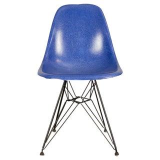 Vintage Blue Eames Herman Miller Chair For Sale