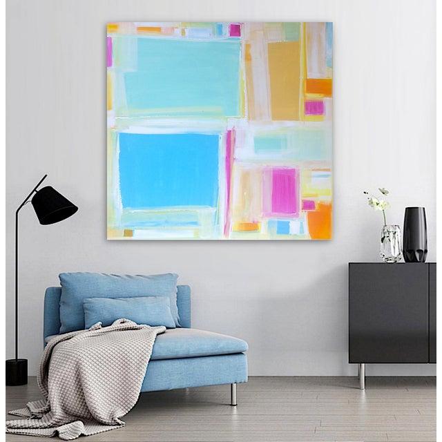 'MADRAS' Original Abstract Painting by Linnea Heide - Image 2 of 7