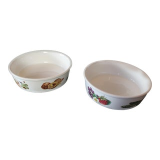 Late 20th Century Oven to Table Wedgware Dishes - a Pair For Sale