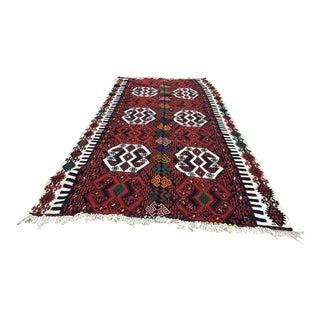 Anatolian Kilim Rug Oushak Rug Boho Kilim