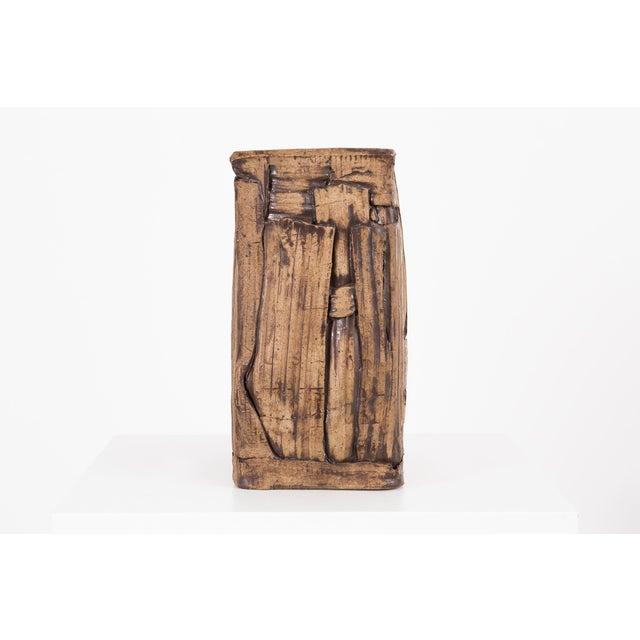 Modern Marilyn Levine Pottery Pillow Sculpture For Sale - Image 3 of 9