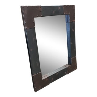 Restoration Hardware Style Industrial Mirror