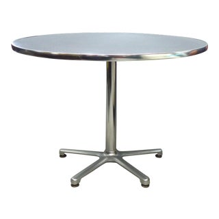 Aluminum Bistro Table by Jorge Pensi for Amat, Spain for Knoll