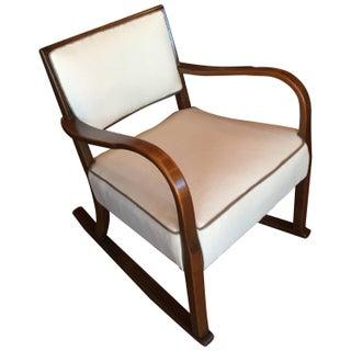 Vintage Fritz Hansen Rocking Chair