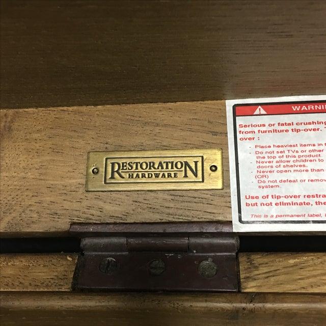 Restoration Hardware Heirloom Silver Trunk - Image 4 of 10