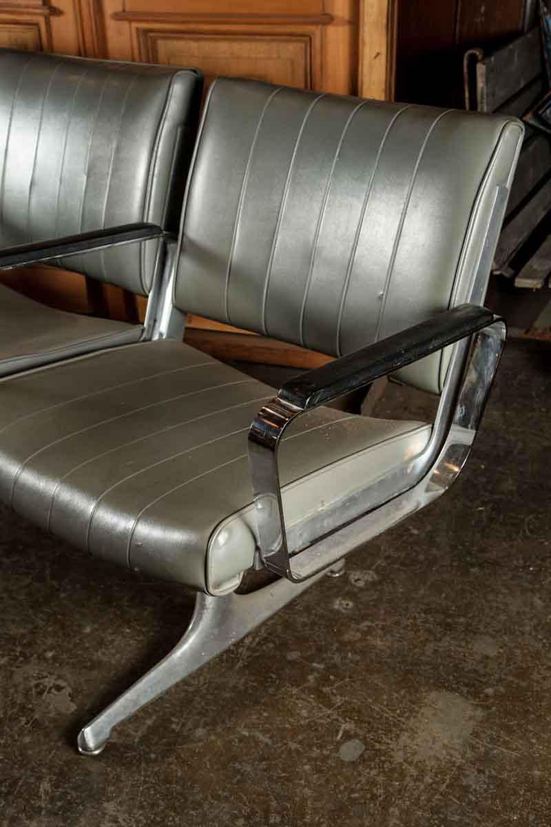 4 In 1 Retro Style Airport Waiting Area Chairs   Image 7 Of 10
