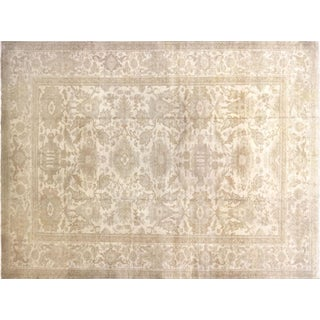 "Nalbandian - 1980s Egyptian Sultanabad Carpet - 10'1"" X 13'3"" For Sale"
