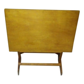 1970s Mid-Century Modern Drafting Table For Sale