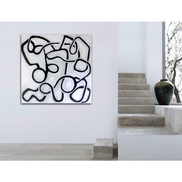 'La Bamba Original Abstract Painting by Linnea Heide - Image 5 of 8