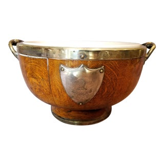 Oak Heraldry Compote Fruit Bowl