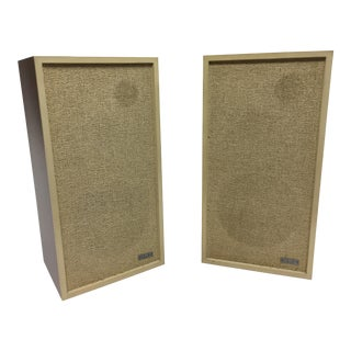 Mid Century Modern Walnut Bookshelf Speakers by Klh - a Pair