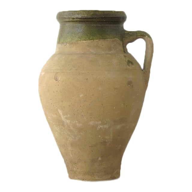 Turkish Clay Olive Jar - Image 1 of 8