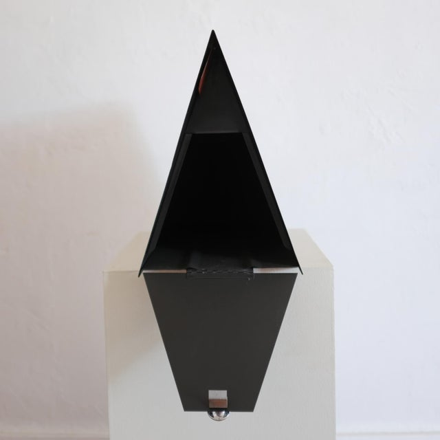 Metal A-Frame Architectural Mailbox, 1950s For Sale - Image 7 of 13
