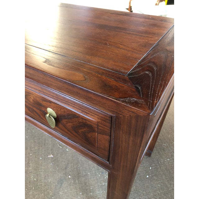 Asian Ming Style Walnut Writing Desk For Sale - Image 3 of 7