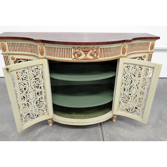 Adams Style Paint Decorated Commode For Sale In Philadelphia - Image 6 of 8