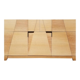 Rift and Spessart White Oak Credenza For Sale