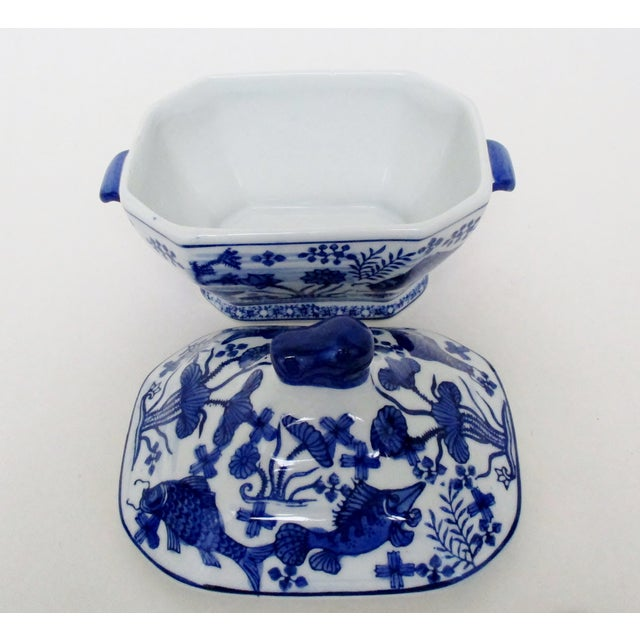 Small Porcelain Tureen For Sale - Image 4 of 7