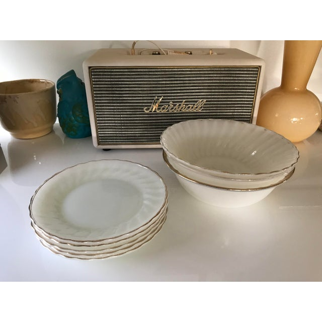 Anchor Hocking Suburbia Dinnerware - 8 Piece Set For Sale - Image 9 of 10