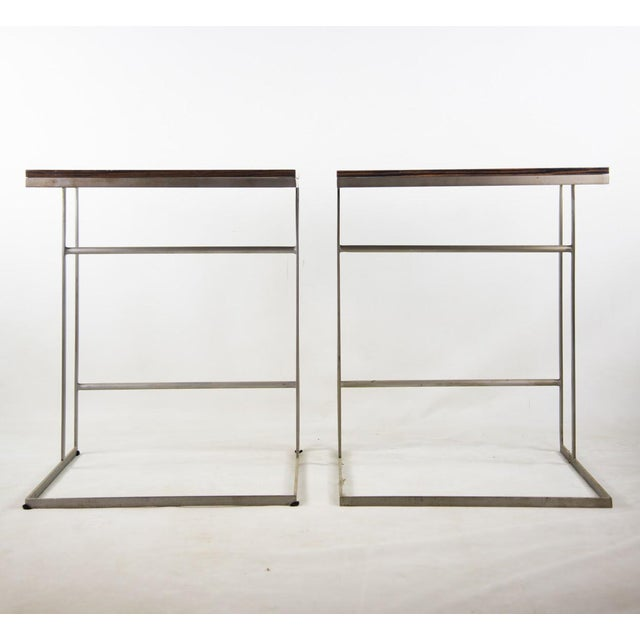 Desiron 1990s Desiron Lap Tables - a Pair For Sale - Image 4 of 13