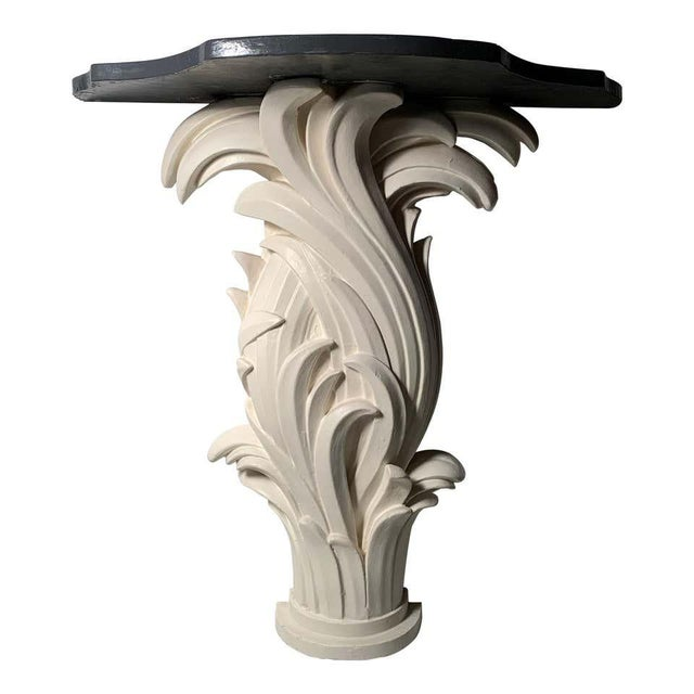 Vintage Plaster Console in manner of Serge Roche For Sale - Image 13 of 13