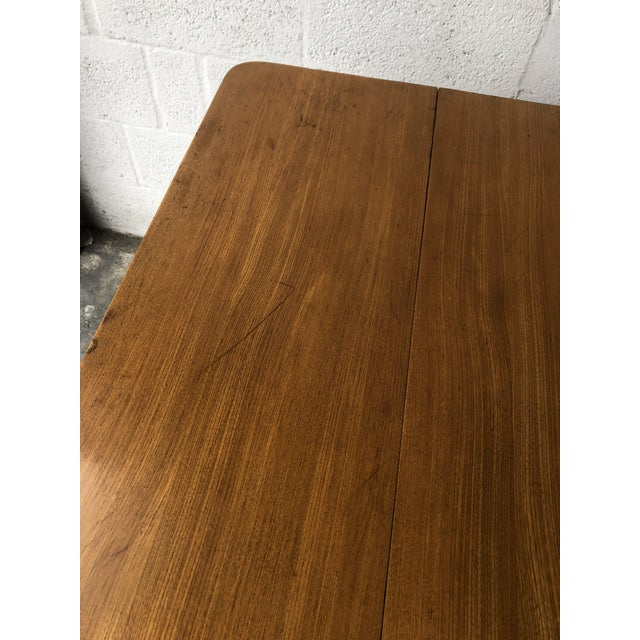 Vintage Mid Century Modern Expanding Dining Table by Edward Wormley for Drexel Furniture For Sale - Image 9 of 13