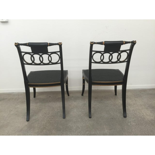 Baker Furniture Company Baker Furniture Governor Alston Chairs - Set of 6 For Sale - Image 4 of 11