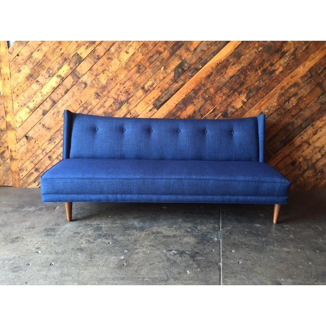 Mid-Century Style Custom Sofa - Image 2 of 9