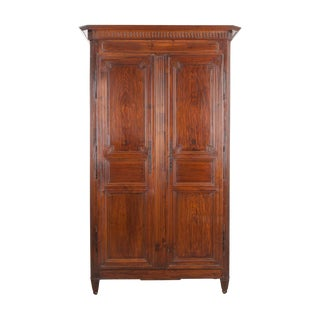 French 19th Century Transitional Rosewood Armoire For Sale