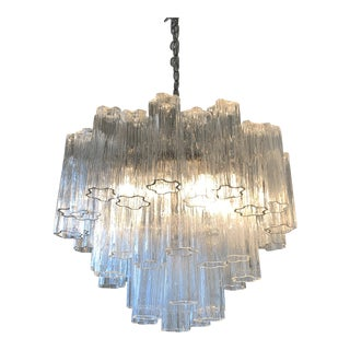 Camer Murano Tronchi Chandelier For Sale