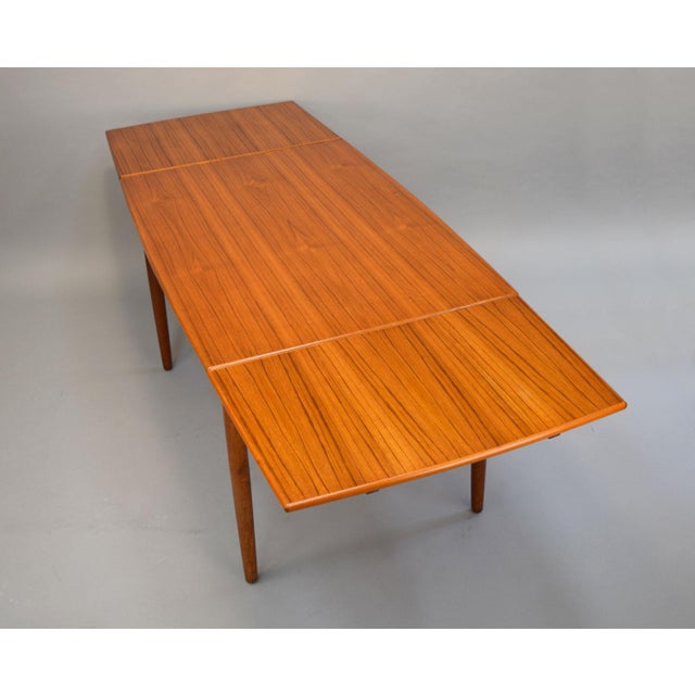 1960s Danish Teak Dining Table - Image 4 of 11