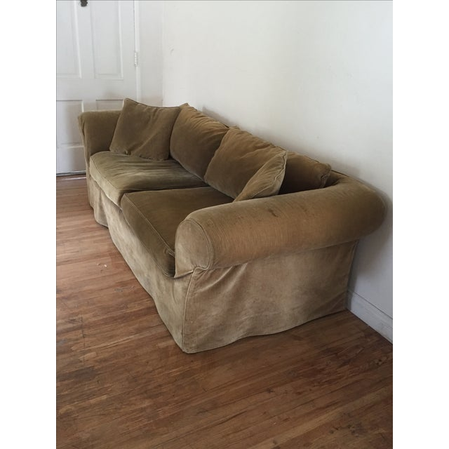 Mitchell Gold Slip Cover Sofa - Image 3 of 8