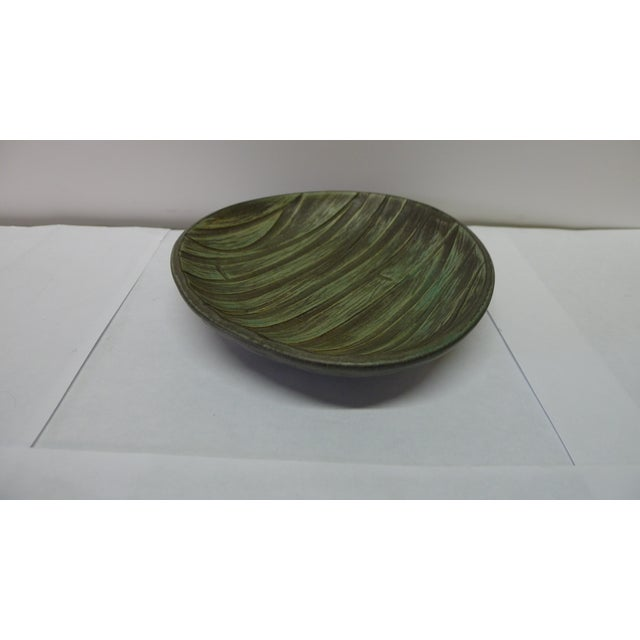 Mid-Century Danish Ceramic Bowl For Sale - Image 4 of 7