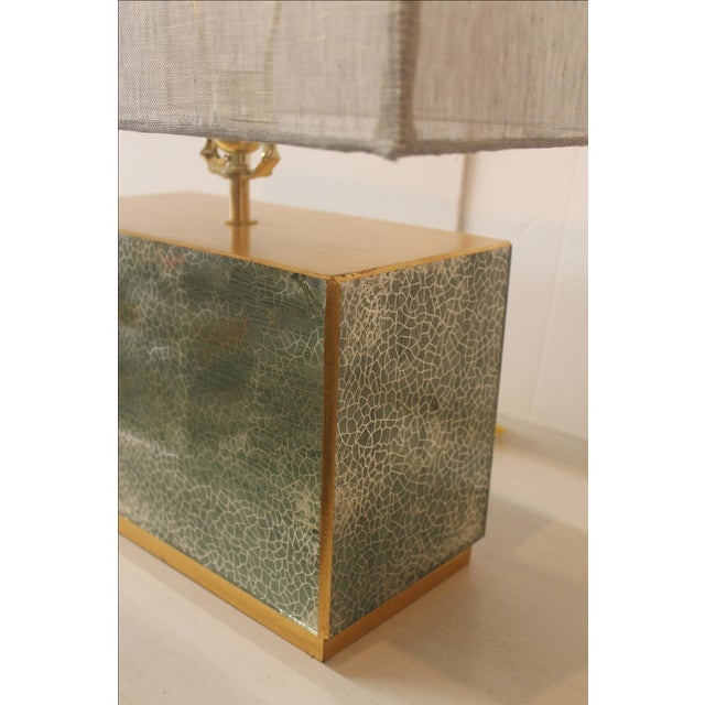 Jade Table Lamp - Image 4 of 6