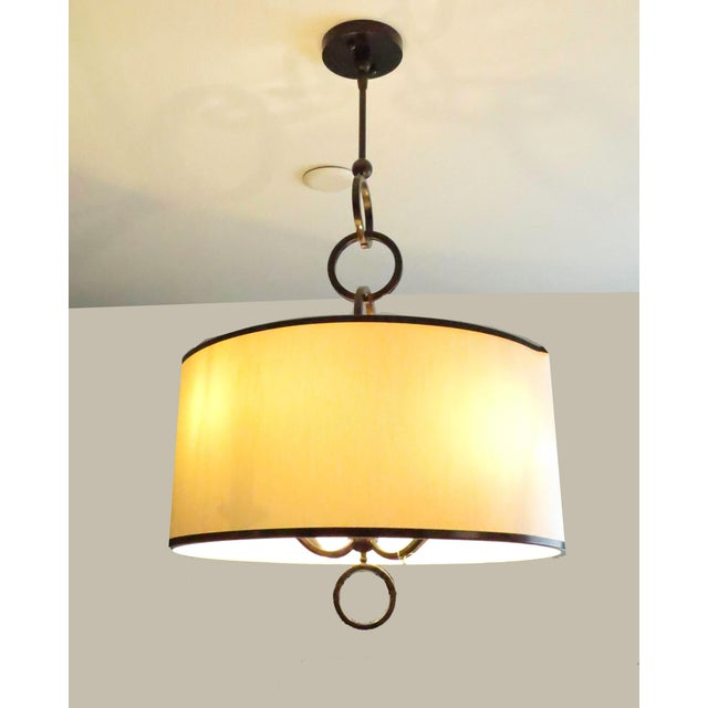 Modern Currey and Company Brownlow Pendant Light For Sale - Image 3 of 4