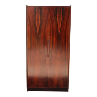 Rosewood Danish Shelving Cabinet