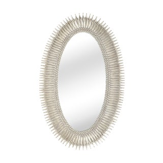 Lucius Mirror in Silver For Sale
