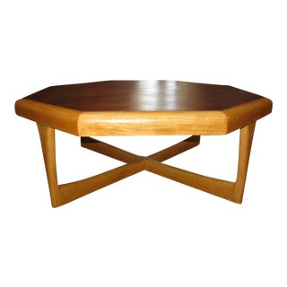 Lane Hexagonal Coffee Table For Sale