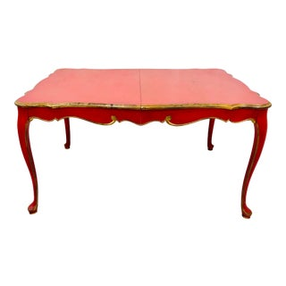 Mid 20th Century Hand Painted French Style Table For Sale