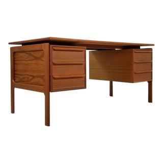 g.v. Gasvig Danish Mid Century Modern Floating Desk For Sale