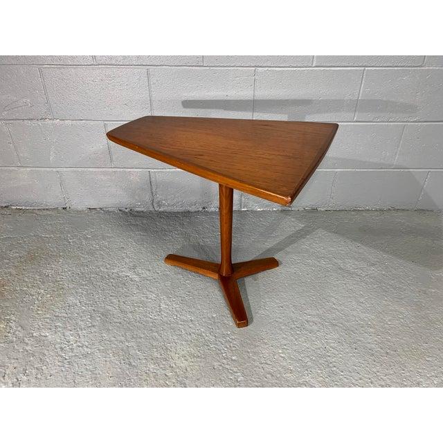 Wood 1960s Mid-Century Swedish Modern Dux Teak Side Table For Sale - Image 7 of 13
