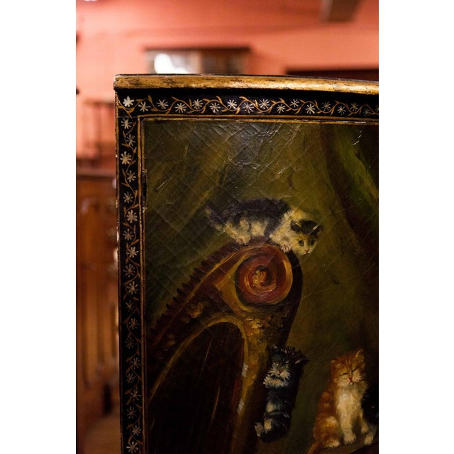 19th Century Painted Corner Cupboard For Sale In Raleigh - Image 6 of 10