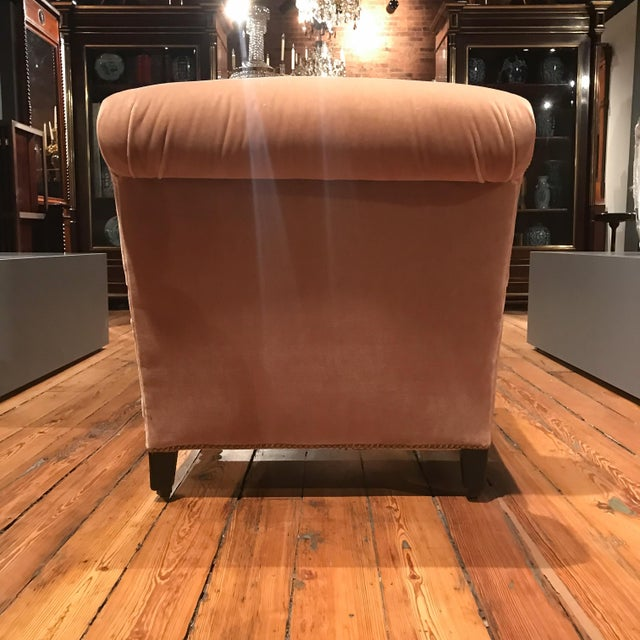 19th Century French Mohair Upholstery Armchairs- a Pair For Sale In New York - Image 6 of 10