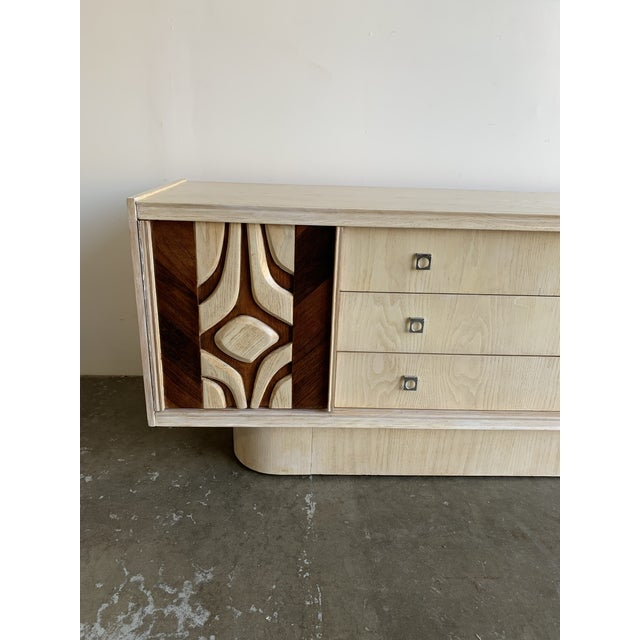 Mid-Century Modern 1970s Canadian Brutalist Sideboard For Sale - Image 3 of 13