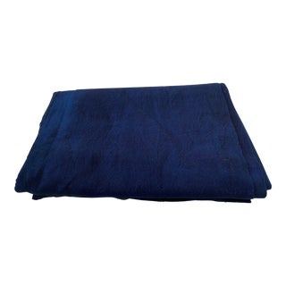 Fine Plain Indigo Cloth - Mossi Tribe Burkina Faso For Sale