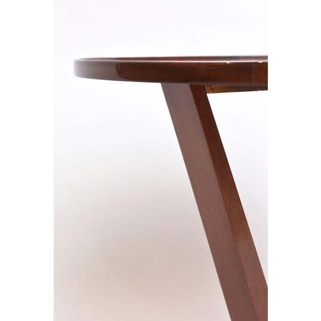 Art Deco Late Art Deco Mahogany Occasional Table For Sale - Image 3 of 9