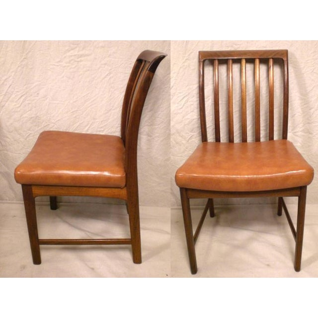 Danish Modern DUX Danish Modern Chairs - Set of 4 For Sale - Image 3 of 7
