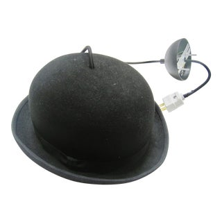 Jeeves by Jake Phipps Bowler Hat Pendant Light Hanging Light For Sale