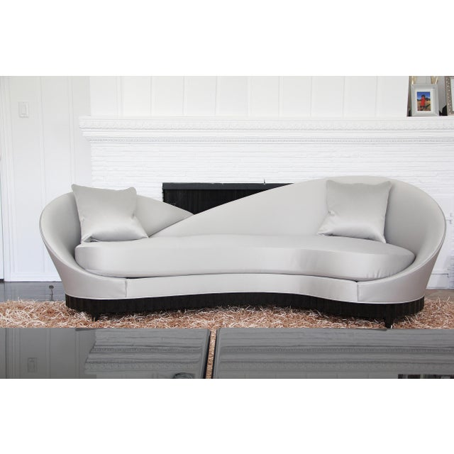 2010s Christopher Guy Courbé Sofa For Sale - Image 5 of 5