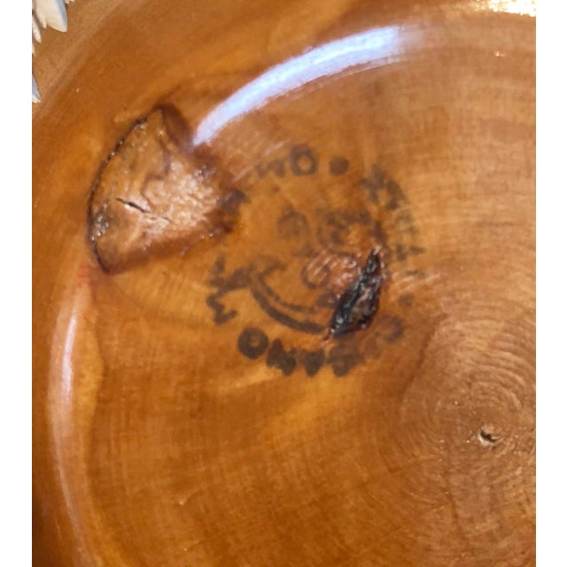 1950s Mid-Century Modern Aldo Tura Macabo Nut Dish For Sale In New York - Image 6 of 7