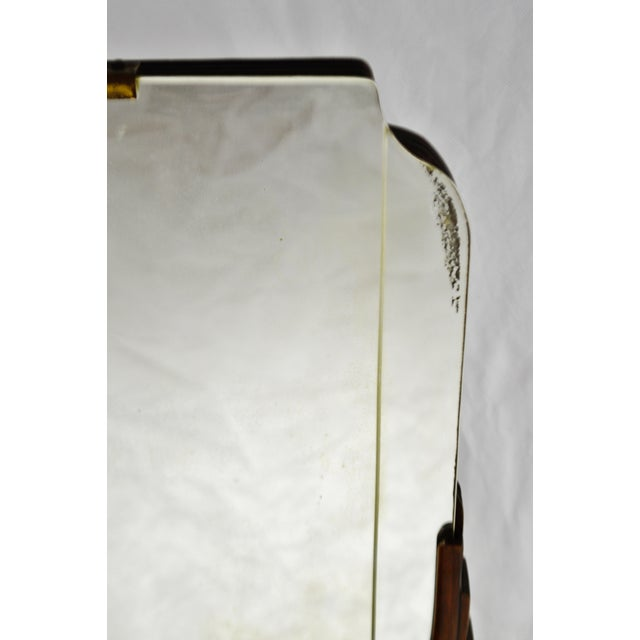 Art Deco Table Top Vanity Shaving Mirror For Sale - Image 12 of 13
